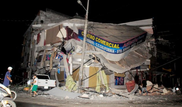 At Least 246 Killed After Massive Earthquake Rocks Ecuador
