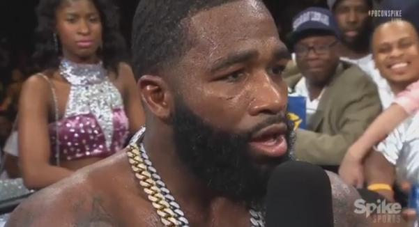 "Adrien Broner Challenges Floyd Mayweather Jr. To Fight: ""I Don't Care If We Spar Or We Fight. Let's Get It On"""