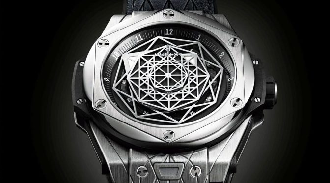 Sacred Geometry And The Hublot Big Bang Sang Bleu