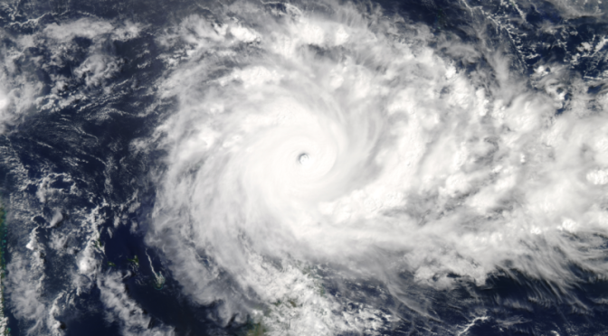 The Largest Cyclone Ever Recorded in the Indian Ocean Is Very Large