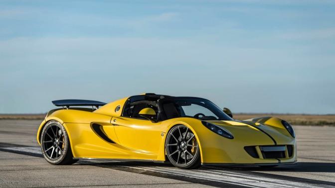 Hennessey Venom GT Spyder Becomes World's Fastest Convertible