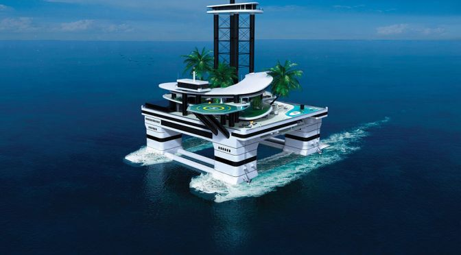 AN ISLAND FIT FOR A BOND VILLAIN