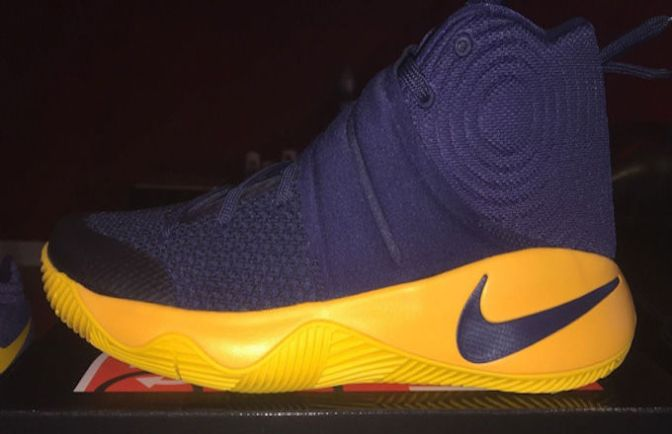 This Nike Kyrie 2 'Cavs' Colorway Will Release Just In Time For the NBA Finals