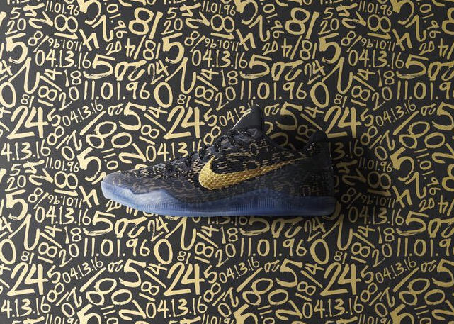 """NikeiD Will Be Releasing a Special """"Mamba Day"""" Graphic for the Kobe XI"""