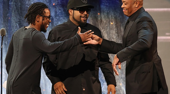 Kendrick Lamar Inducts N.W.A. Into The Rock And Roll Hall Of Fame