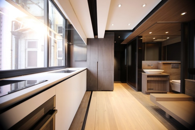 I Can't Believe All the Features Mashed Into This Micro-Apartment