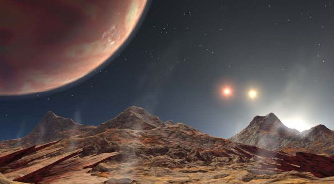 This Newly Discovered Triple Sun Planet Would See Some Truly Bizarre Skies