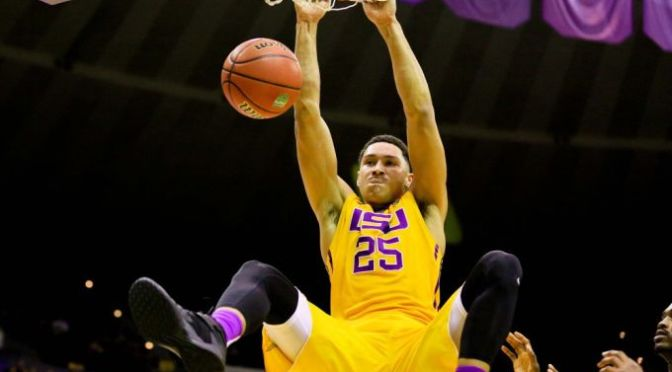 LSU Tigers' Ben Simmons Hints at Signing a Deal With adidas