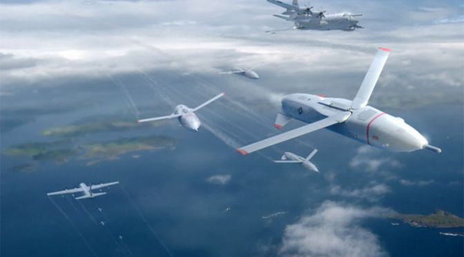 DARPA Wants To Swarm Enemy Skies With Small Reusable Drone Armies Called 'Gremlins'