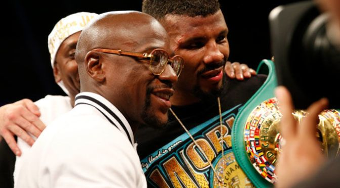 Floyd Mayweather Hints Towards Possible Comeback