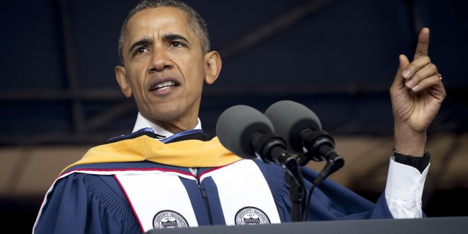 Obama Urges Howard Graduates To 'Be Confident In Your Blackness'