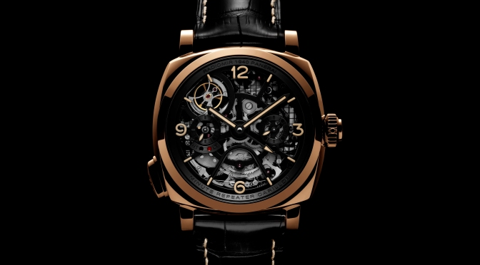 Panerai Unveils The Radiomir 1940 Minute Repeater Carillon Tourbillon GMT