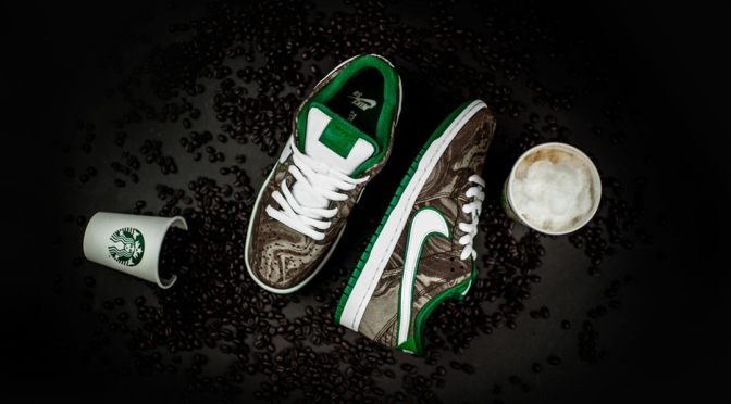 Starbucks Sneakers Are Here