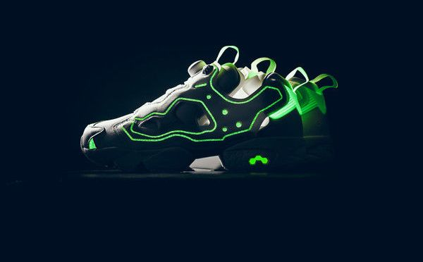 "Reebok Made a ""Glow In the Dark"" InstaPump Fury In Collaboration With Empty Canvas"