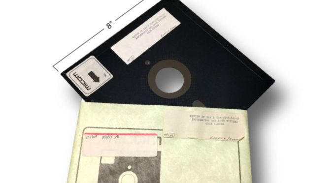 THE PENTAGON STILL USES FLOPPY DISKS FOR NUCLEAR LAUNCHES