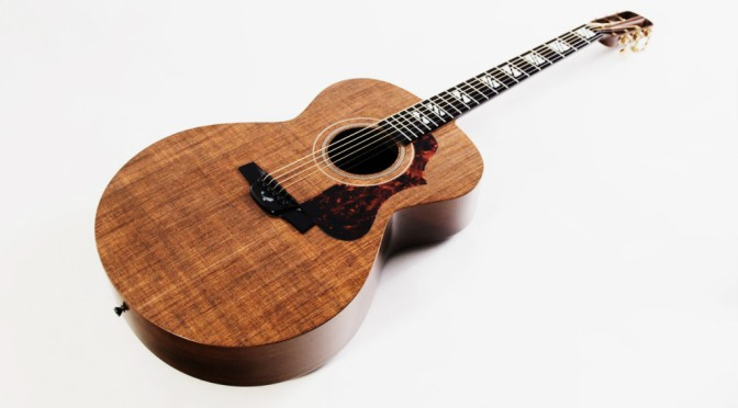 Guitar Made of 'Solid Linen' Looks and Plays Like Wood