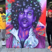 The Story Behind The Game's Massive New Prince Painting