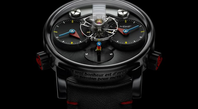 MB&F Teams With Alain Silberstein for New Legacy Machine