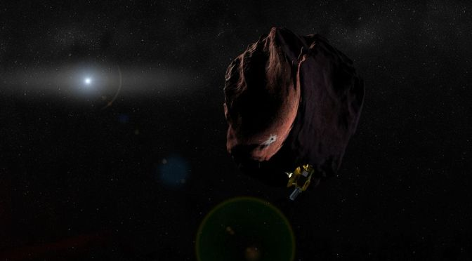 BEYOND PLUTO: MEET THE NEW HORIZONS SPACECRAFT'S NEXT TARGET