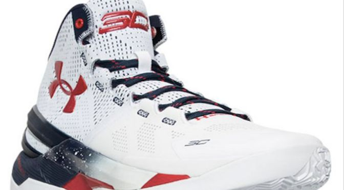 There Is a 'USA' Under Armour Curry 2 Releasing This Month