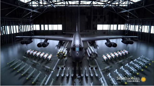 THIS VIDEO EXPLAINS THE TERRIFYING POWER OF THE B-52 BOMBER