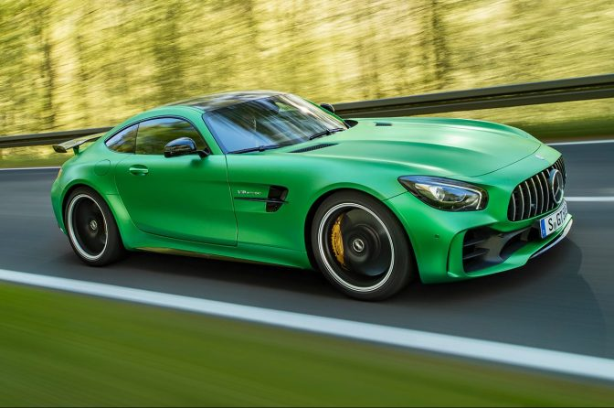 THE FIRE-BREATHING, 198-MPH MERCEDES AMG GT R IS A STREET-LEGAL BEAST