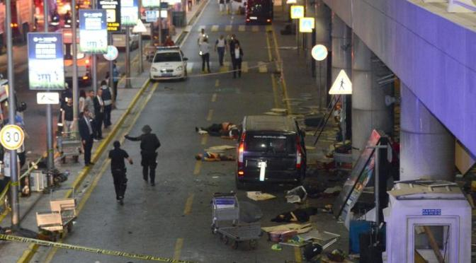 Explosions at Istanbul Airport Leave 31 Dead, Multiple Wounded