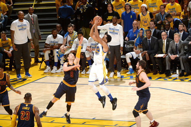 Shaun Livingston And Whoever Else Is On The Warriors Win Game 1