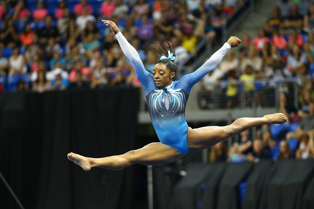 Simone Biles Makes History With 4th Consecutive National Championship