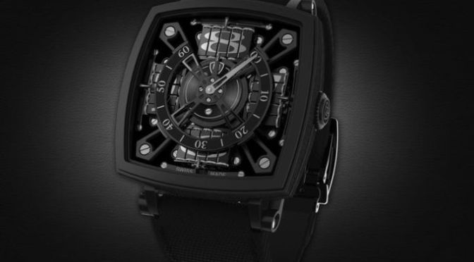 This is the Blackest Watch in the World