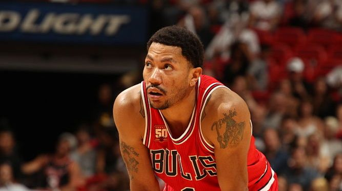 Bulls trade Derrick Rose to Knicks