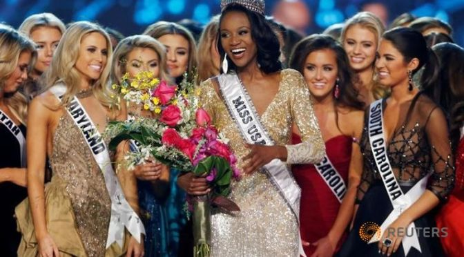 Miss USA 2016 Crown Goes To D.C. Army Reserve Officer Deshauna Barber