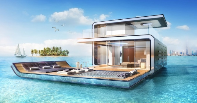 DUBAI'S LATEST FLOATING HOMES ARE ITS MOST DECADENT YET