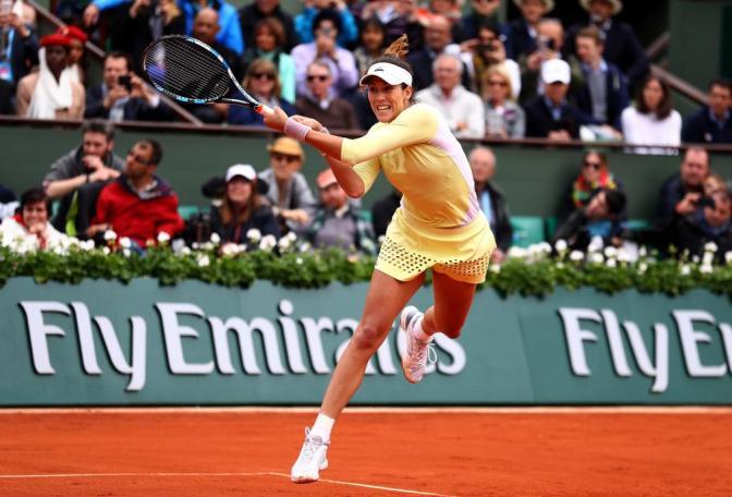 Garbine Muguruza Beats Serena Williams at French Open