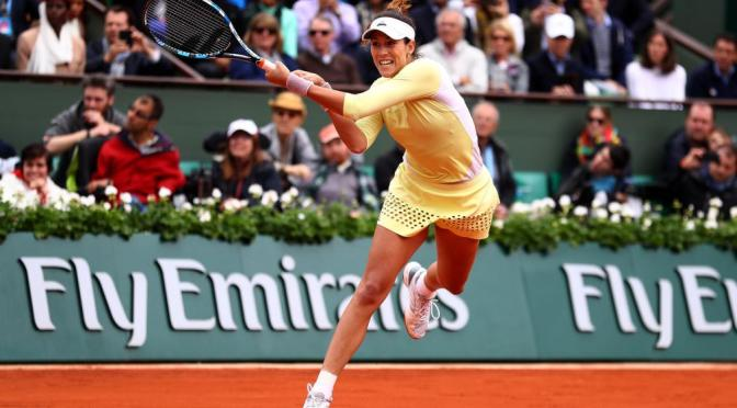 Garbine Muguruza Beats Serena Williams at French Open