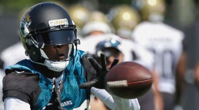 Allergic to grass, Jaguars WR Allen Hurns itching to get off the field every day