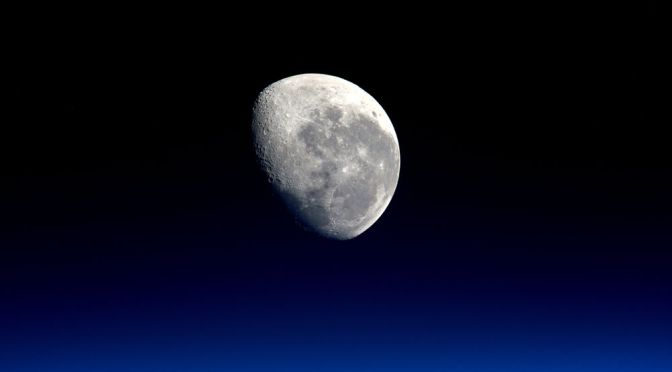 ASTEROIDS, NOT COMETS, BROUGHT BULK OF MOON'S WATER