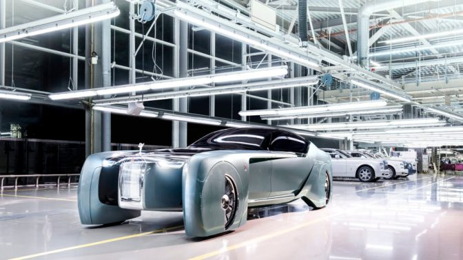 Rolls-Royce's Ridiculous New Concept Hails the 22nd-Century Oligarch