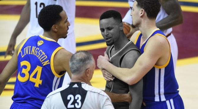 LeBron James Turned Steph Curry Into a Villain