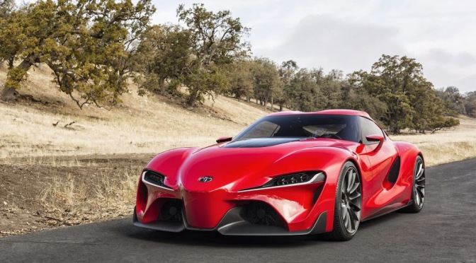 THE RETURN OF THE TOYOTA SUPRA IS UPON US