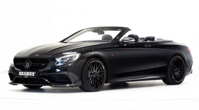 THIS BRABUS IS A MERCEDES-AMG S63 CABRIOLET ON STEROIDS