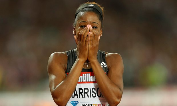 Kendra Harrison sets 100m hurdles world record at Anniversary Games