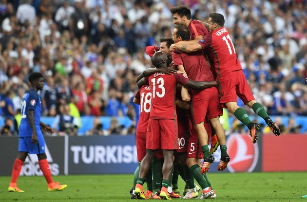 Portugal Defeats France 1-0 To Win Euro 2016 Championship