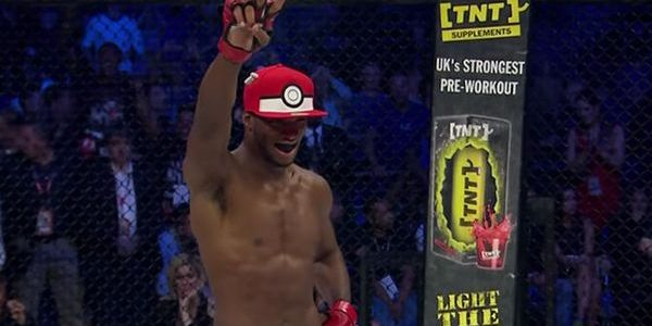 MMA Fighter Michael Page Tries to Catch His Opponent With a Poké Ball After Knocking Him Out