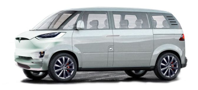 Elon Musk Confirms Tesla Minibus Will Be Based On The Model X