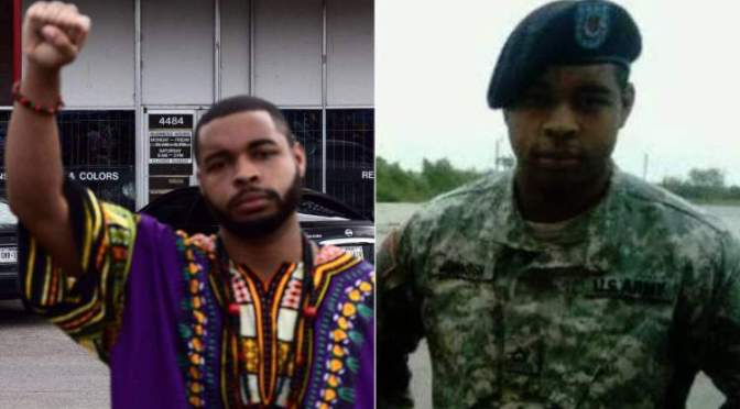 "Micah X. Johnson Identified As Dallas Cop Murderer. Said He Wanted To ""Kill White Officers"""
