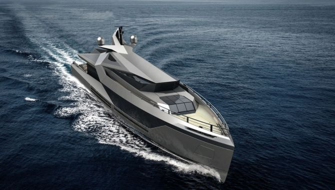 INSIDE THE 164-FOOT CONCEPT THAT'S THE ULTIMATE CUSTOMIZABLE SUPERYACHT