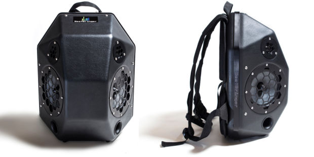 ROCK THE PARTY WITH THIS INSANELY LOUD BACKPACK SPEAKER