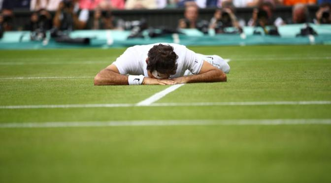 Roger Federer Loses in Wimbledon Semifinals