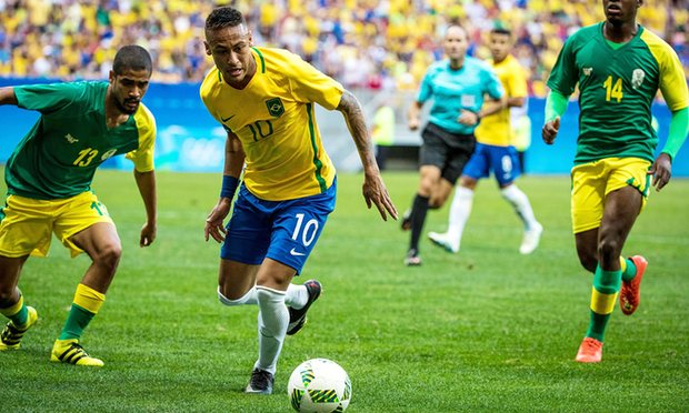 Neymar and Brazil draw blank in Rio 2016 opener with South Africa